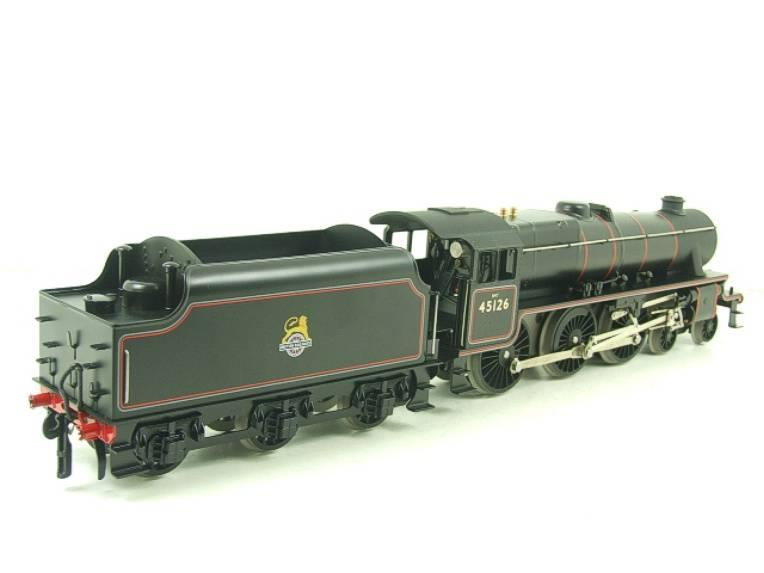 Ace Trains O Gauge E19-C1 BR Satin Black 5 Loco & Tender R/N 45126 Electric 2/3 Rail Bxd image 21