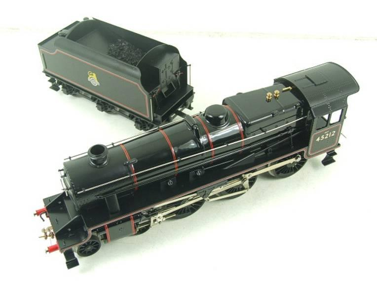 Ace Trains O Gauge E19-C2 Early BR Gloss Black 5 4-6-0 Loco & Tender R/N 45212 image 11