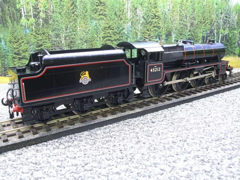 Ace Trains O Gauge E19-C2 Early BR Gloss Black 5 4-6-0 Loco & Tender R/N 45212 image 20