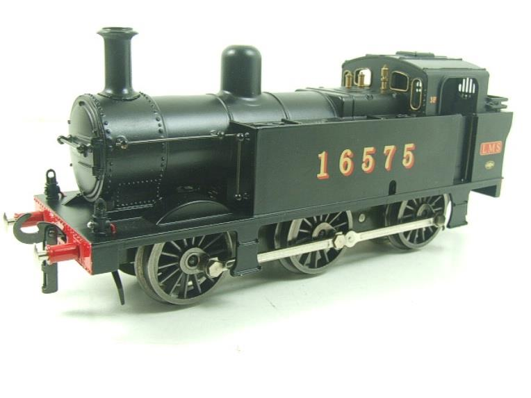 Darstaed O Gauge LMS Unlined Black Class 3F Jinty Tank Loco R/N 16575 Bxd Electric 3 Rail image 11