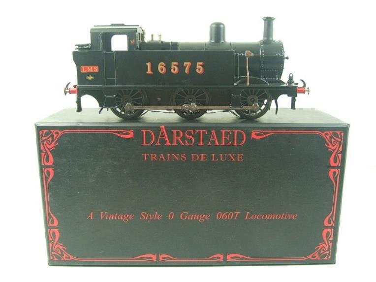 Darstaed O Gauge LMS Unlined Black Class 3F Jinty Tank Loco R/N 16575 Bxd Electric 3 Rail image 15