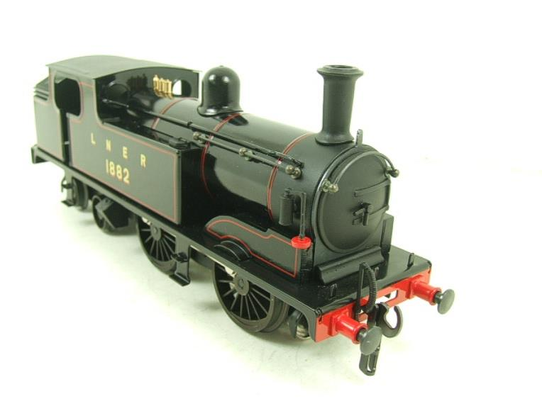 Ace Trains O Gauge E25B1 LNER Black G5 Tank Loco R/N 1882 Electric 2/3 Rail Boxed image 11