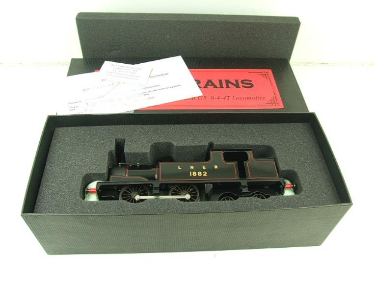 Ace Trains O Gauge E25B1 LNER Black G5 Tank Loco R/N 1882 Electric 2/3 Rail Boxed image 16