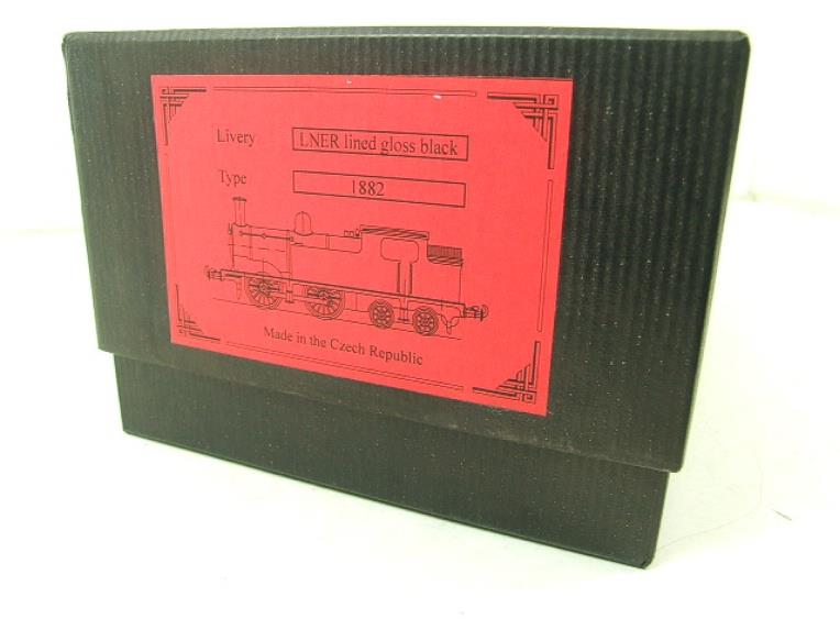 Ace Trains O Gauge E25B1 LNER Black G5 Tank Loco R/N 1882 Electric 2/3 Rail Boxed image 18