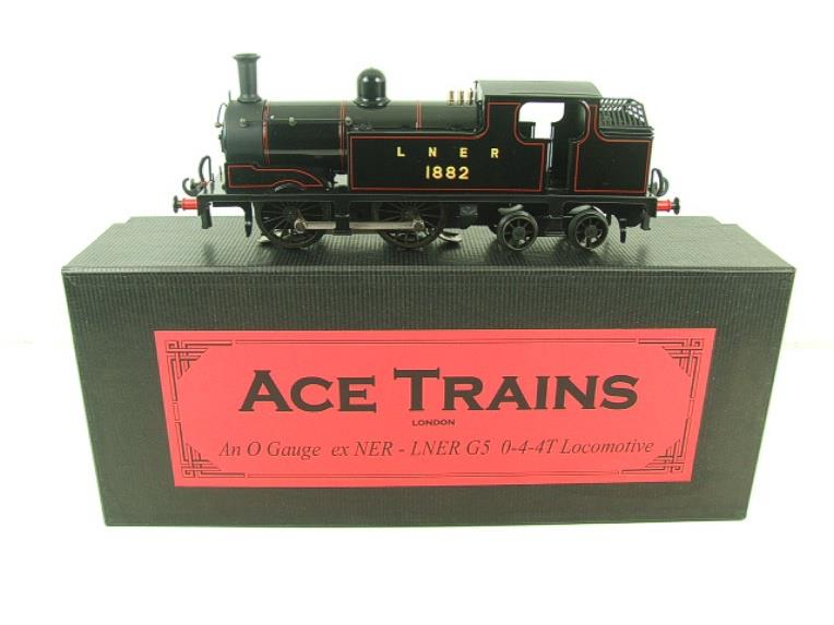 Ace Trains O Gauge E25B1 LNER Black G5 Tank Loco R/N 1882 Electric 2/3 Rail Boxed image 20