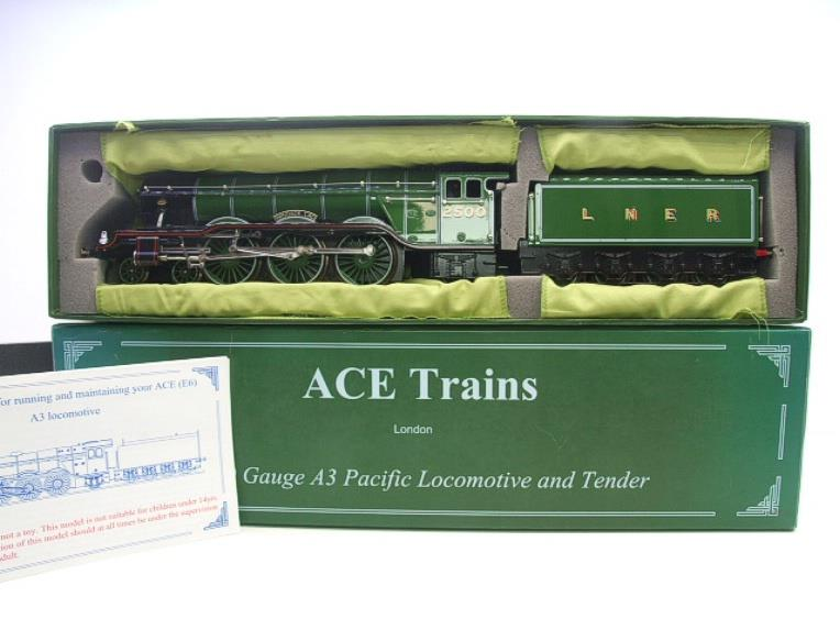 "Ace Trains O Gauge LNER Green A3 Pacific ""Windsor Lad"" RN 2500 Electric 3 Rail Bxd image 18"