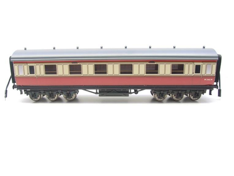 Darstaed O Gauge BR Twelve Wheel Side Corridor Coach R/N M346M Lit Interior image 13