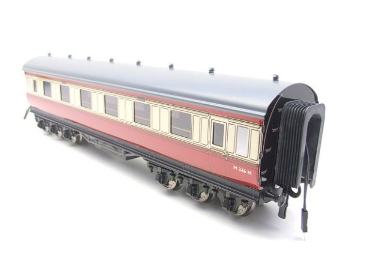 Darstaed O Gauge BR Twelve Wheel Side Corridor Coach R/N M346M Lit Interior image 14