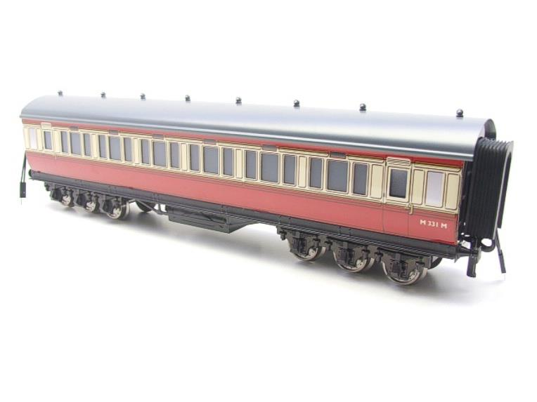 Darstaed O Gauge BR Twelve Wheel All 3rd Corridor Coach R/N M331M Lit Interior image 11