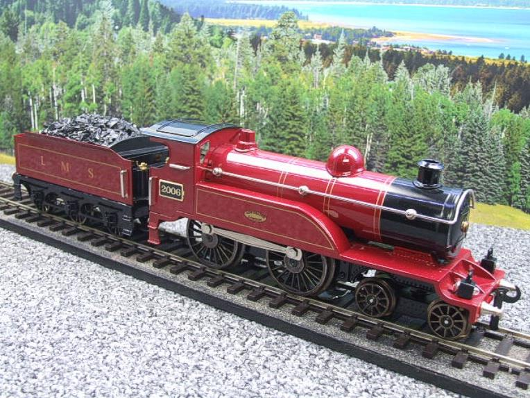 "Ace Trains O Gauge E3 ""LMS Maroon"" 4-4-0 Loco & Tender R/N 2006 Electric 3 Rail Boxed image 11"
