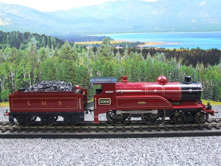 "Ace Trains O Gauge E3 ""LMS Maroon"" 4-4-0 Loco & Tender R/N 2006 Electric 3 Rail Boxed image 17"