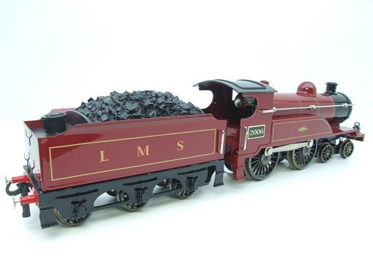 "Ace Trains O Gauge E3 ""LMS Maroon"" 4-4-0 Loco & Tender R/N 2006 Electric 3 Rail Boxed image 20"