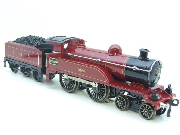"Ace Trains O Gauge E3 ""LMS Maroon"" 4-4-0 Loco & Tender R/N 2006 Electric 3 Rail Boxed image 21"