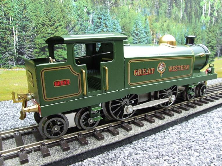 "Ace Trains O Gauge EGW/1 ""Great Western"" 4-4-4 Tank Loco R/N 7202 Electric 3 Rail Boxed image 11"