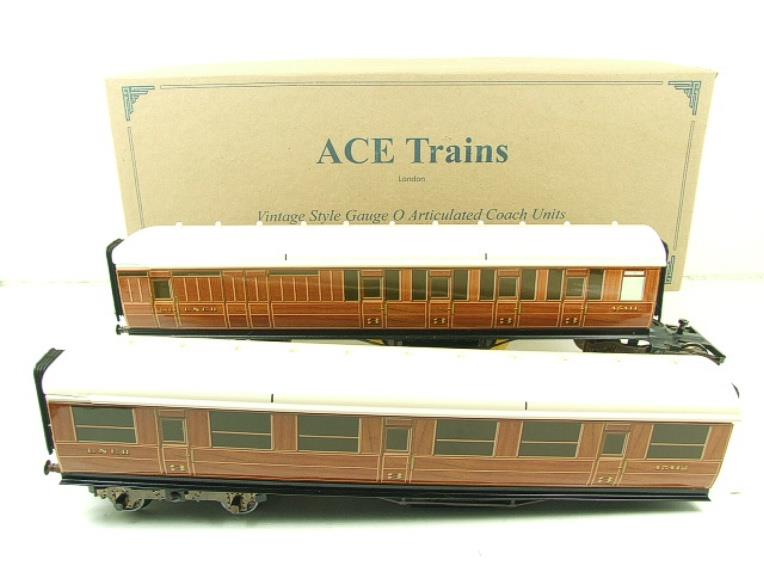 Ace Trains Wright Series O Gauge LNER All 3rd Pair of Articulated Coaches Set image 20