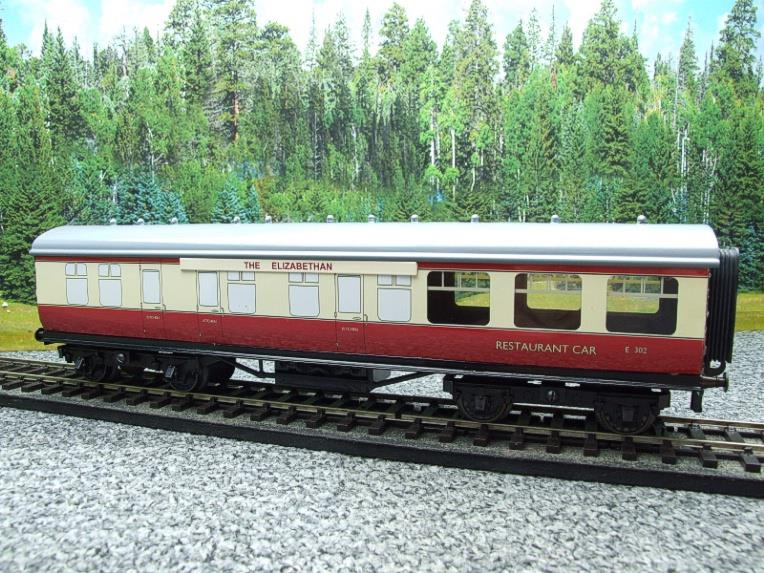 "Ace Trains O Gauge C5 BR ""The Elizabethan"" Restaurant Buffet Coach R/N E302 Boxed image 12"