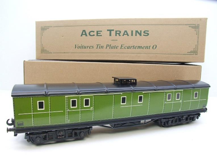 "Ace Trains O Gauge French Edition Fougon ""1991"" Baggage Coach Boxed image 15"