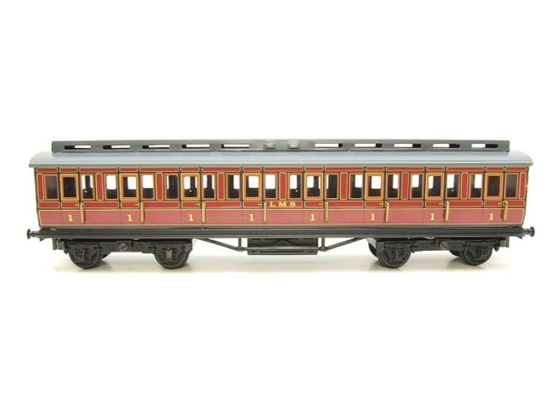 Ace Trains O Gauge C1 LMS x3 Clerestory Roof Passenger Coaches Set Boxed image 17