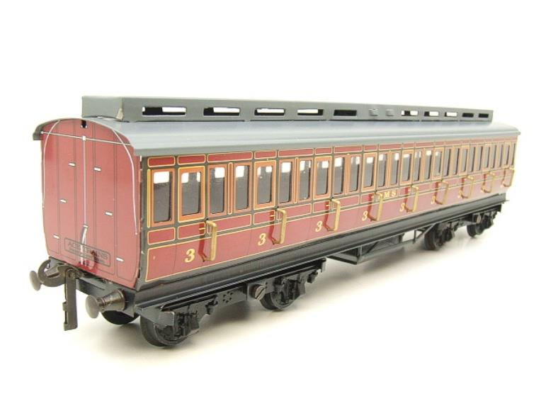 Ace Trains O Gauge C1 LMS x3 Clerestory Roof Passenger Coaches Set Boxed image 18