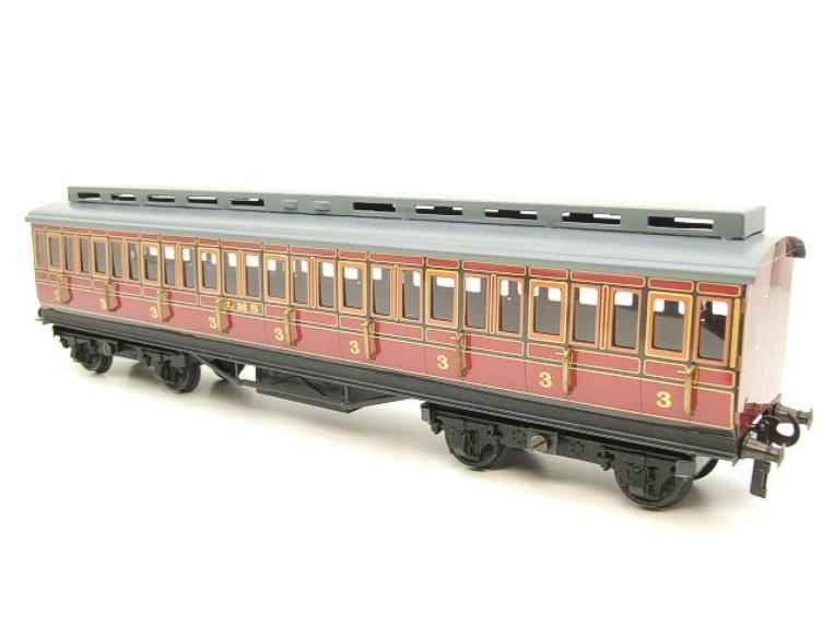 Ace Trains O Gauge C1 LMS x3 Clerestory Roof Passenger Coaches Set Boxed image 19