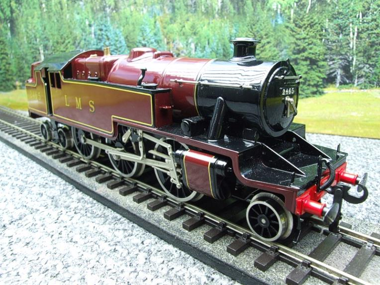 Ace Trains O Gauge E8 LMS Maroon Stanier Tank Loco R/N 2465 Electric 2/3 Rail Boxed image 11