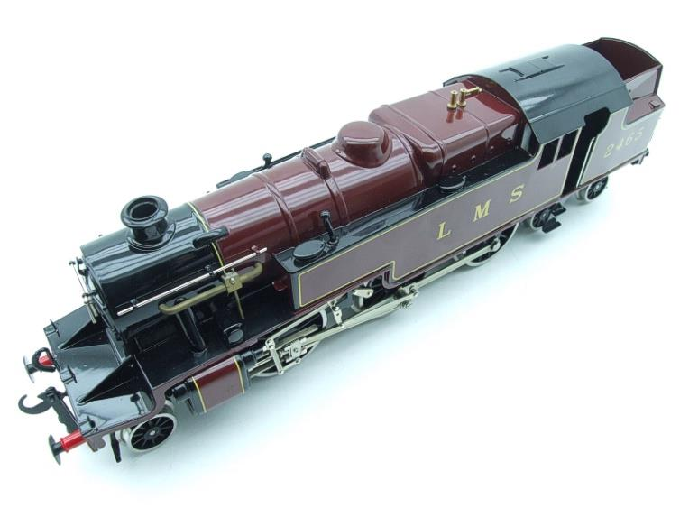 Ace Trains O Gauge E8 LMS Maroon Stanier Tank Loco R/N 2465 Electric 2/3 Rail Boxed image 12