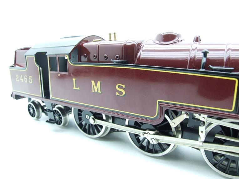 Ace Trains O Gauge E8 LMS Maroon Stanier Tank Loco R/N 2465 Electric 2/3 Rail Boxed image 15