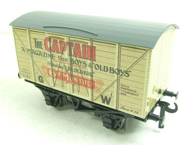 "Darstaed O Gauge GW ""Captain"" 4 Wheel Advertising Van R/N 8384 Brand New Boxed image 11"