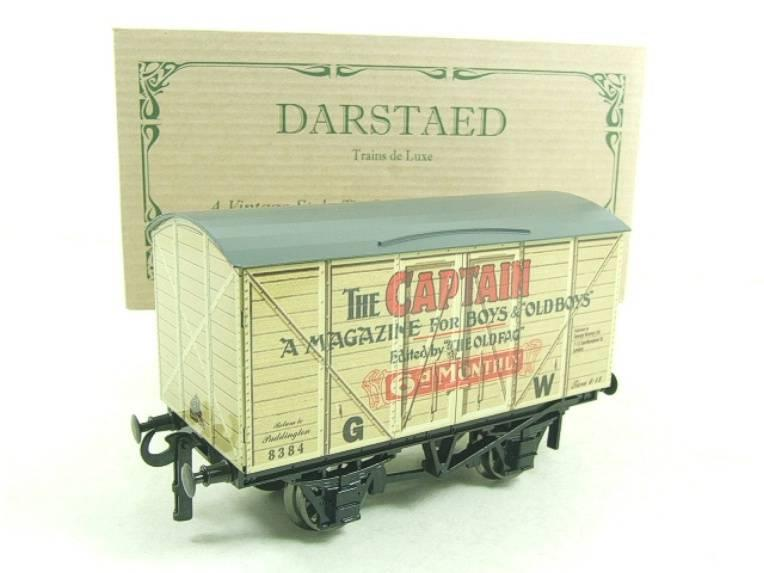 "Darstaed O Gauge GW ""Captain"" 4 Wheel Advertising Van R/N 8384 Brand New Boxed image 13"