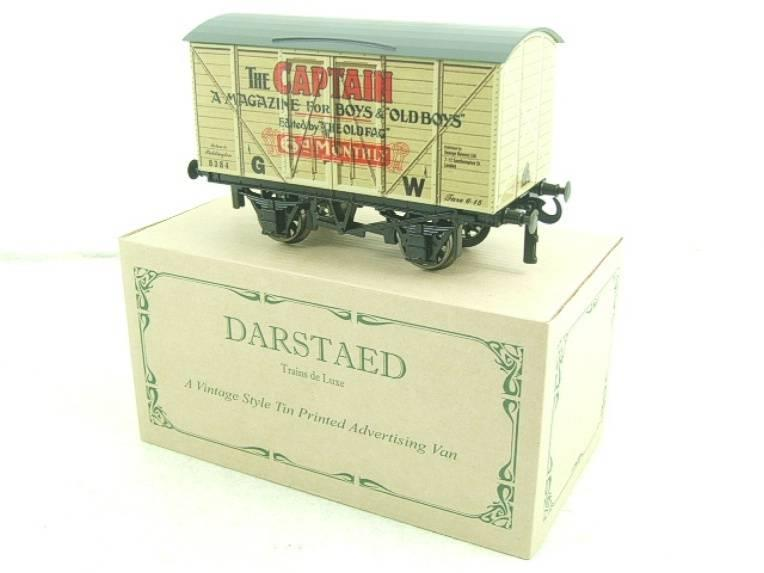 "Darstaed O Gauge GW ""Captain"" 4 Wheel Advertising Van R/N 8384 Brand New Boxed image 14"