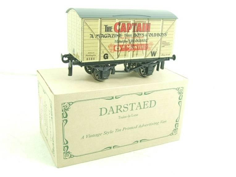 "Darstaed O Gauge GW ""Captain"" 4 Wheel Advertising Van R/N 8384 Brand New Boxed image 15"