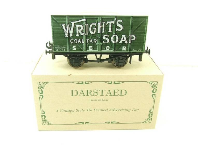 "Darstaed O Gauge SECR ""Wrights Soap"" Advertising Van R/N 27741 Boxed Ltd Edition image 13"