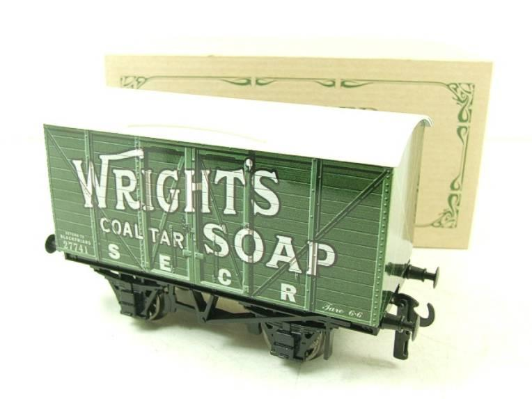 "Darstaed O Gauge SECR ""Wrights Soap"" Advertising Van R/N 27741 Boxed Ltd Edition image 14"