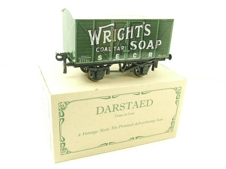 "Darstaed O Gauge SECR ""Wrights Soap"" Advertising Van R/N 27741 Boxed Ltd Edition image 15"