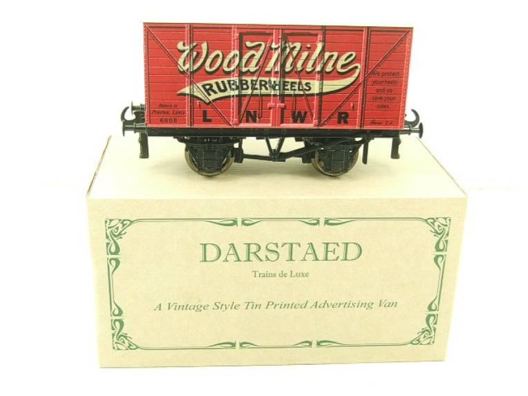 "Darstaed O Gauge LNWR ""Woodmilne"" Advertising Van R/N 6008 Boxed Ltd Edition image 13"