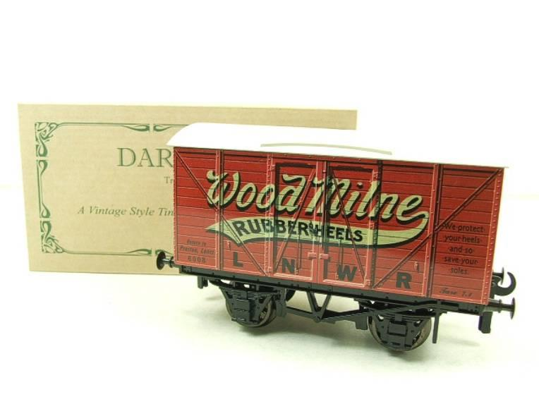 "Darstaed O Gauge LNWR ""Woodmilne"" Advertising Van R/N 6008 Boxed Ltd Edition image 14"