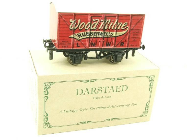 "Darstaed O Gauge LNWR ""Woodmilne"" Advertising Van R/N 6008 Boxed Ltd Edition image 15"