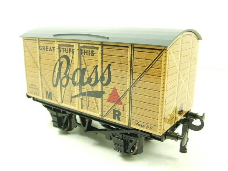 "Darstaed O Gauge MR Advertising Van ""Bass"" R/N 91201 Ltd Edition Boxed image 11"