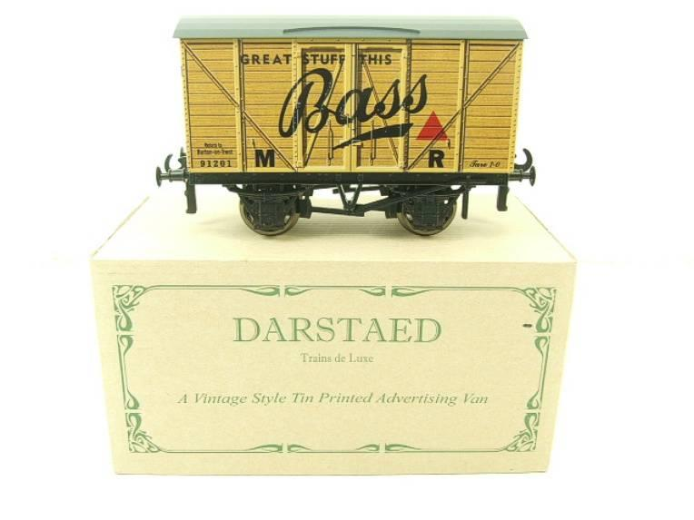 "Darstaed O Gauge MR Advertising Van ""Bass"" R/N 91201 Ltd Edition Boxed image 13"