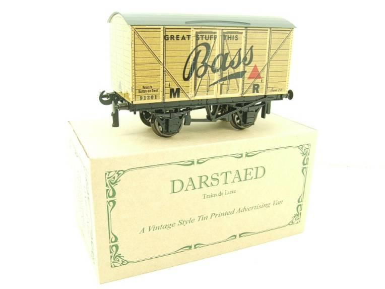 "Darstaed O Gauge MR Advertising Van ""Bass"" R/N 91201 Ltd Edition Boxed image 15"