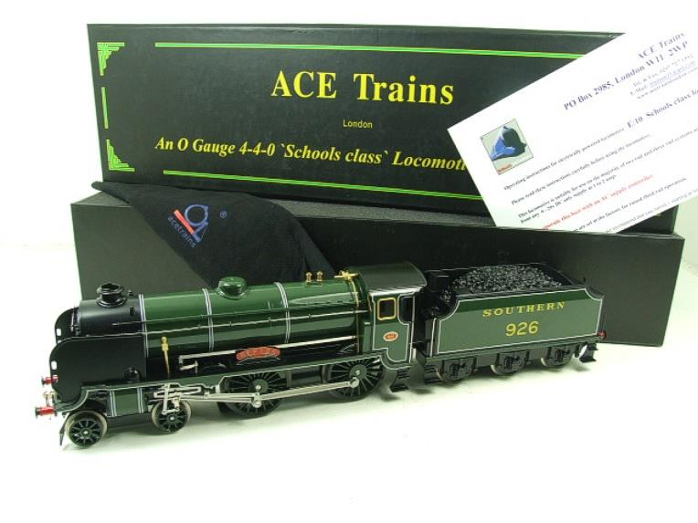 "Ace Trains O Gauge E10 SR Schools Class ""Repton"" R/N 926 Electric 2/3 Rail Boxed image 21"