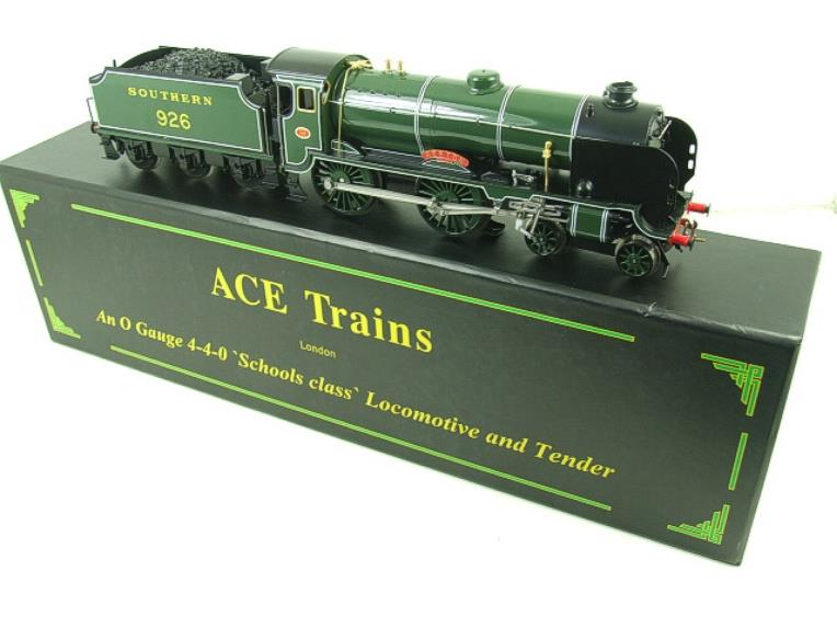 "Ace Trains O Gauge E10 SR Schools Class ""Repton"" R/N 926 Electric 2/3 Rail Boxed image 22"