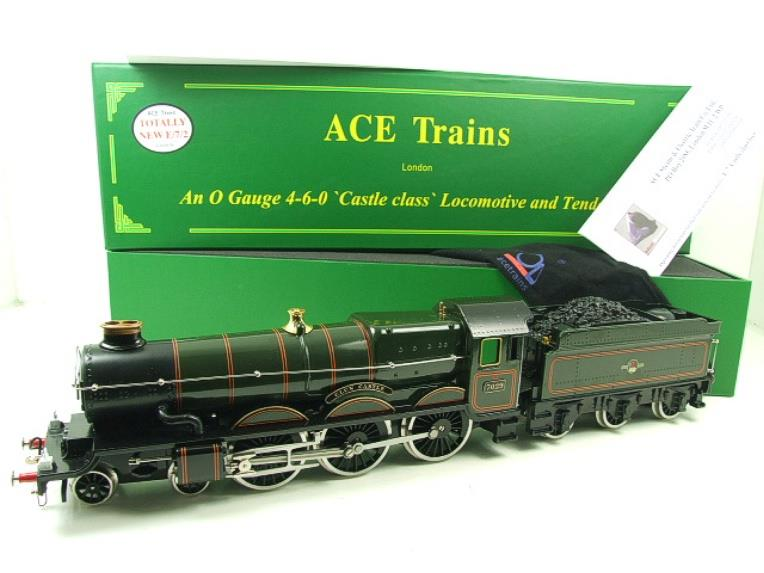 "Ace Trains O Gauge E7/2 BR Castle Class ""Clun Castle"" R/N 7029 Electric 2/3 Rail image 22"