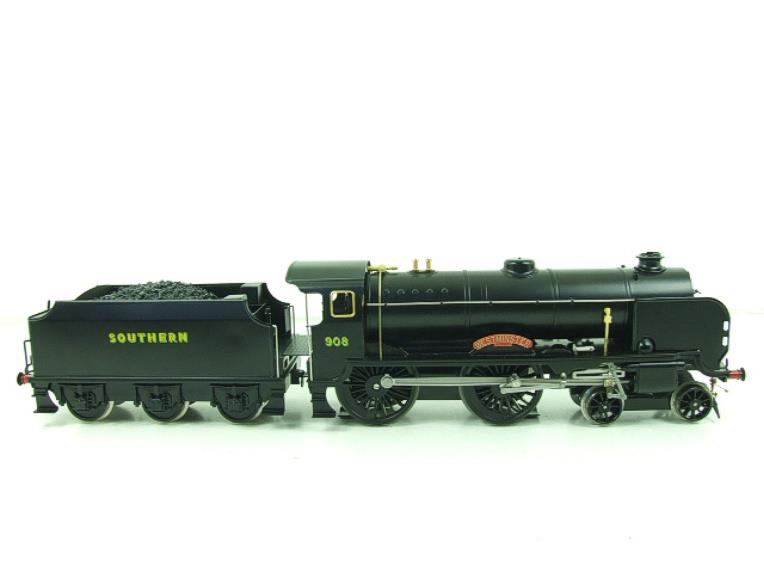 "Ace Trains O Gauge E10P SR Black Schools Class ""Westminster"" R/N 908 Electric 2/3 Rail Bxd image 16"