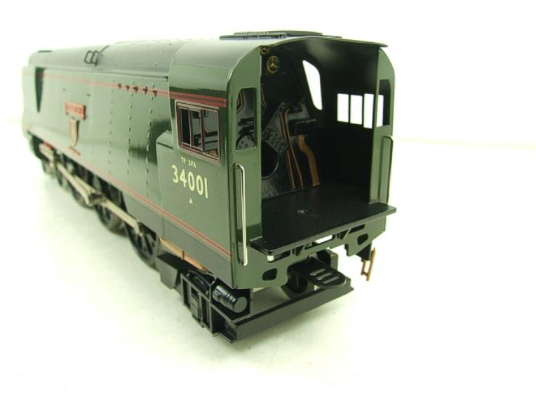 "Ace Trains O Gauge E9 Bulleid Pacific BR ""Exeter"" R/N 34001 Electric 2/3 Rail Bxd image 11"