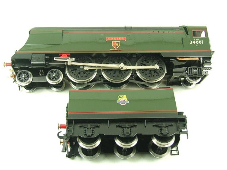 "Ace Trains O Gauge E9 Bulleid Pacific BR ""Exeter"" R/N 34001 Electric 2/3 Rail Bxd image 14"