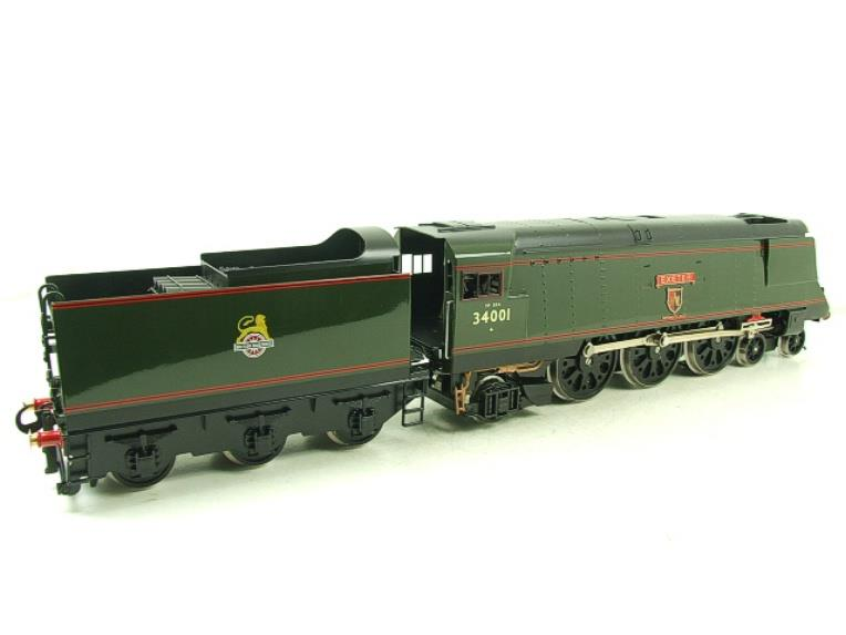 "Ace Trains O Gauge E9 Bulleid Pacific BR ""Exeter"" R/N 34001 Electric 2/3 Rail Bxd image 15"