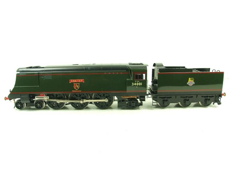 "Ace Trains O Gauge E9 Bulleid Pacific BR ""Exeter"" R/N 34001 Electric 2/3 Rail Bxd image 17"