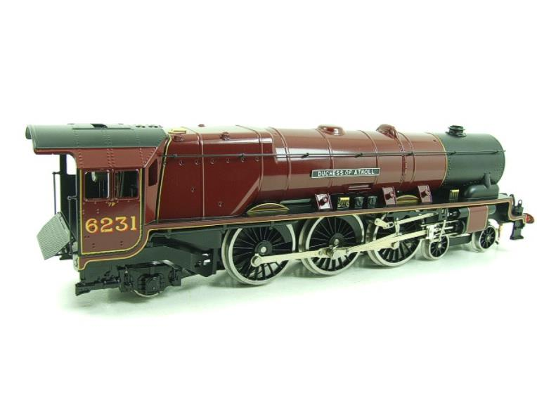 "Ace O Gauge E12D1 LMS Duchess Pacific ""Duchess of Atholl"" R/N 6231 Electric 2/3 Rail Bxd image 14"