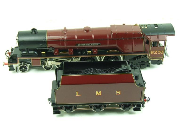 "Ace O Gauge E12D1 LMS Duchess Pacific ""Duchess of Atholl"" R/N 6231 Electric 2/3 Rail Bxd image 16"